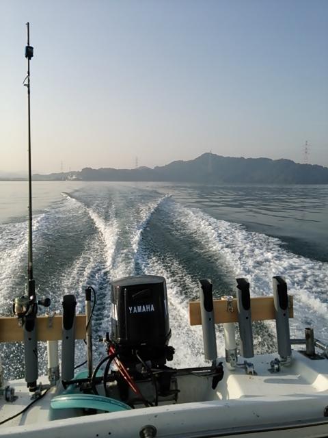 ボートの釣果2