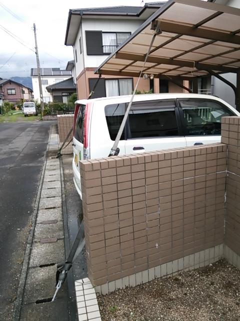 台風の準備3