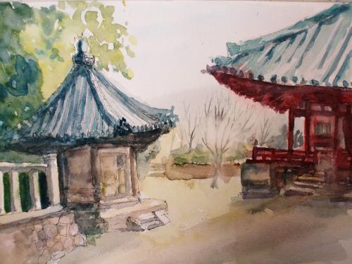 中山寺 六角堂