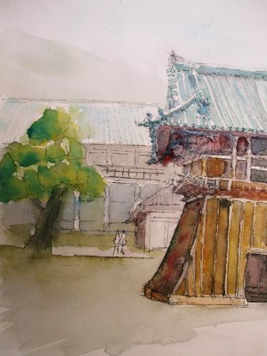 中山寺 鐘月堂
