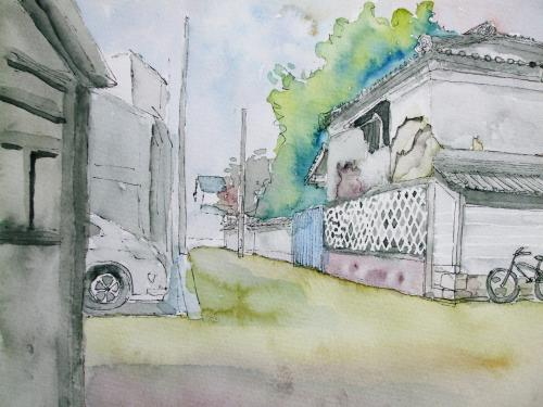 寺町通り 裏道