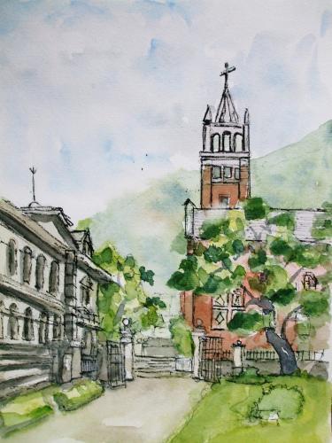 栄光教会横