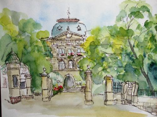 神戸公館 正門