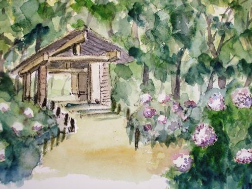 長居公園 紫陽花園