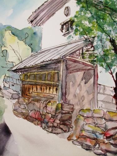 菅浦 倉庫