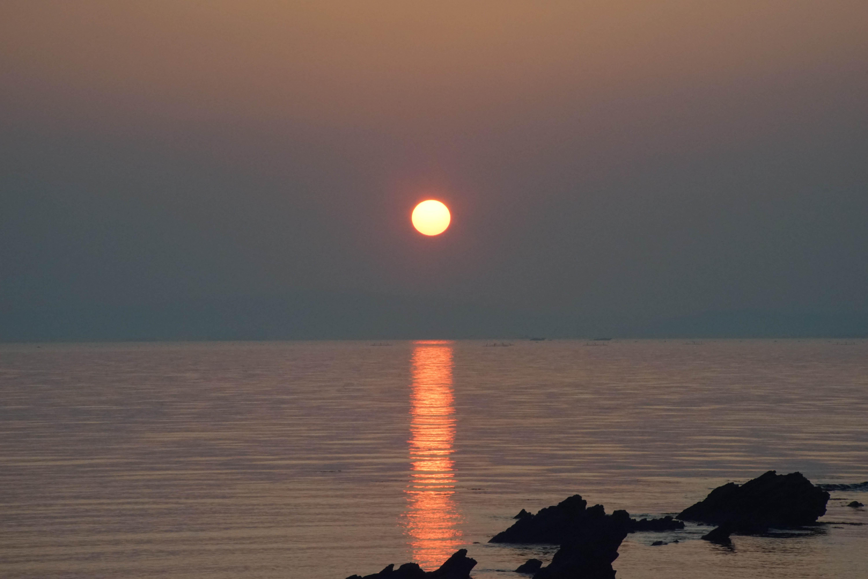 三浦海岸の日の出