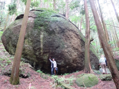 亀石は大きかった