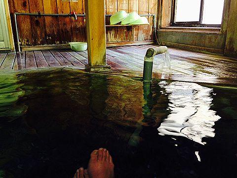 景福 男湯 入浴