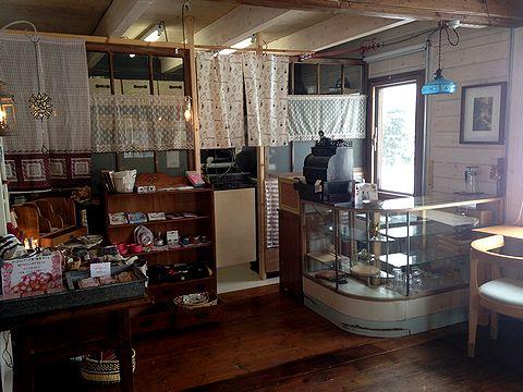 木の芽カフェ店内