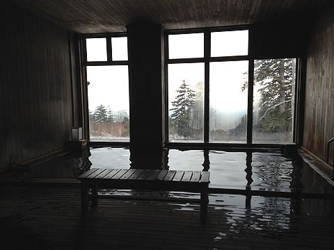 カミホロ荘 大浴場
