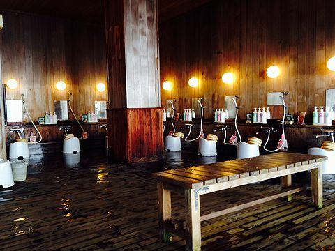 カミホロ荘 洗い場