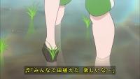 ♪みんなで田植え、楽しいな~!