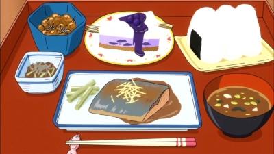 おおもりご飯特製「勉強できちゃう定食」でーす!