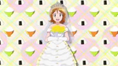 私は炊き立てのご飯みたいな真っ白なドレスがいいかなぁ