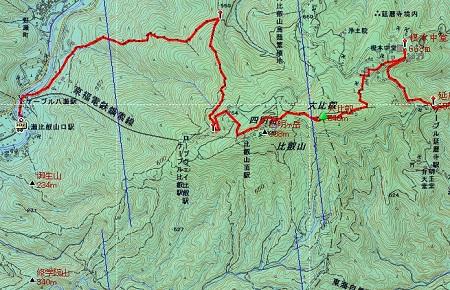 20140511比叡山地図②