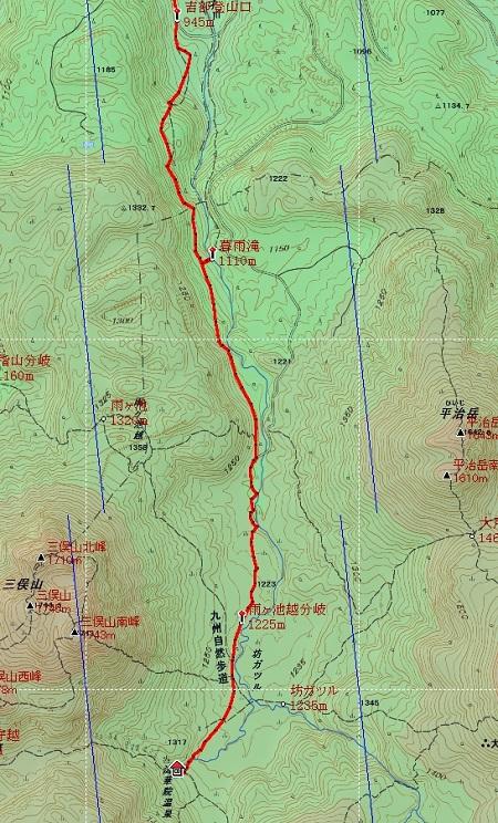 20140605大船山地図2日目②