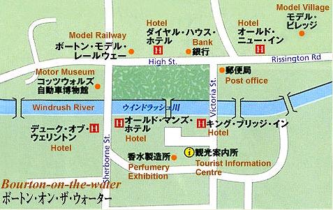 ボートン地図