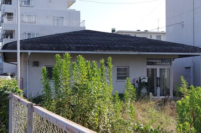 八王子大和田郵政宿舎の集会所