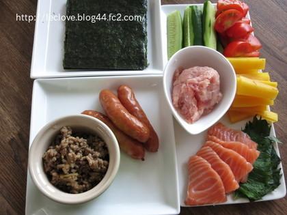 簡単手巻き寿司