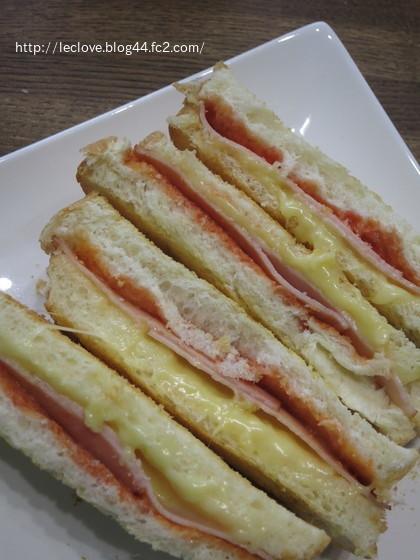 ハムチーズトーストサンド