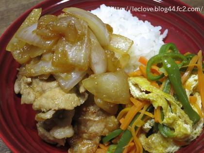 生姜焼きワンプレート
