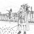 ローマ軍団 行軍