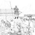 ローマ軍 野営地建設