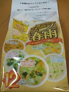 春雨スープモニター10