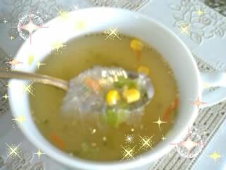 春雨スープモニターコンソメ1