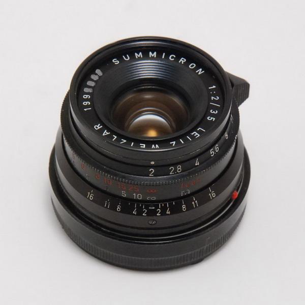 ライカ ズミクロンM35/2(BP)8枚玉・ドイツ_763919a