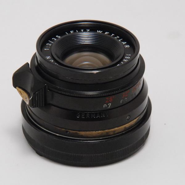 ライカ ズミクロンM35/2(BP)8枚玉・ドイツ_763919c