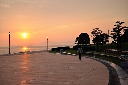夕日が綺麗な海のゾーン