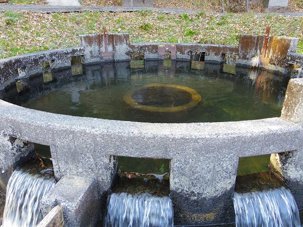 円形分水6