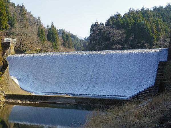 白水ダム1