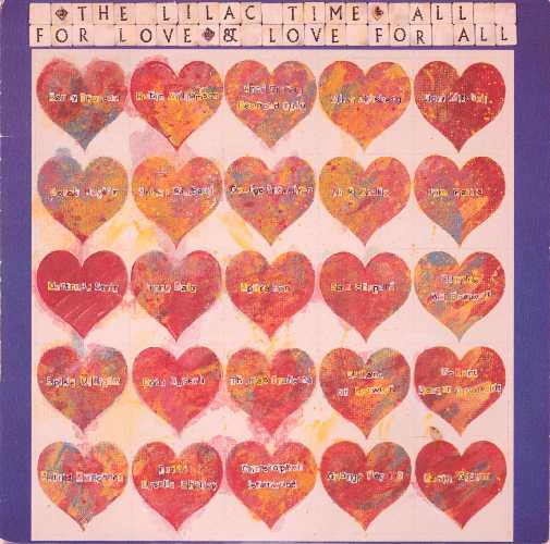 The Lilac Time All For Love & Love For All Cover Front