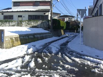 雪の後は 001