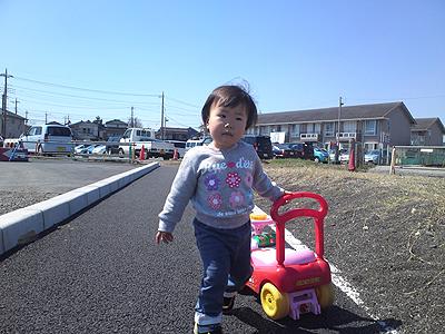 ニーナ散歩1