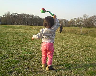 ボール投げ5