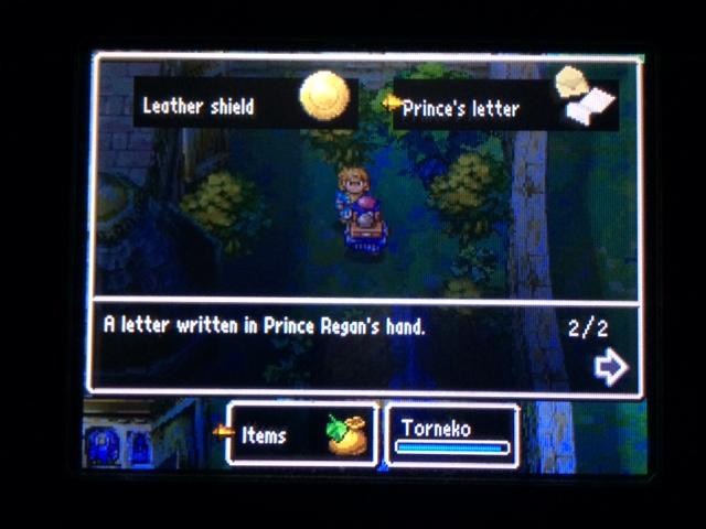 ドラクエ4 北米版 牢屋の男と王子の手紙22