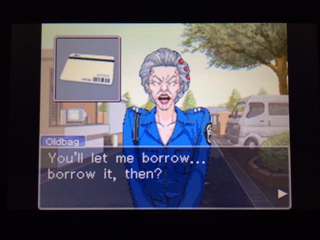 逆転裁判 北米版 オールドバグwith Mia46