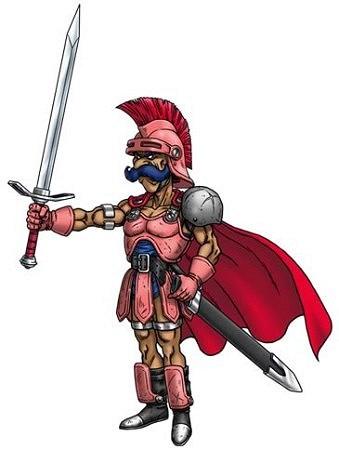 ドラクエ4 北米版 キャラクター ラグナー