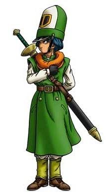 ドラクエ4 北米版 キャラクター カーリル