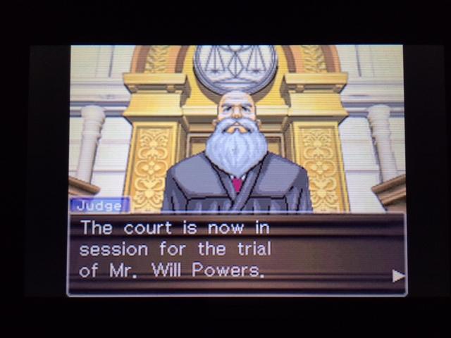 逆転裁判 北米版 ウィル法廷冒頭19