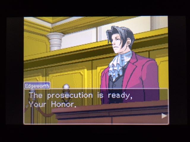 逆転裁判 北米版 ウィル法廷冒頭20