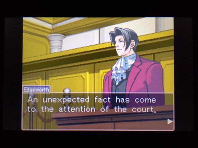 逆転裁判 北米版 ウィル法廷冒頭23
