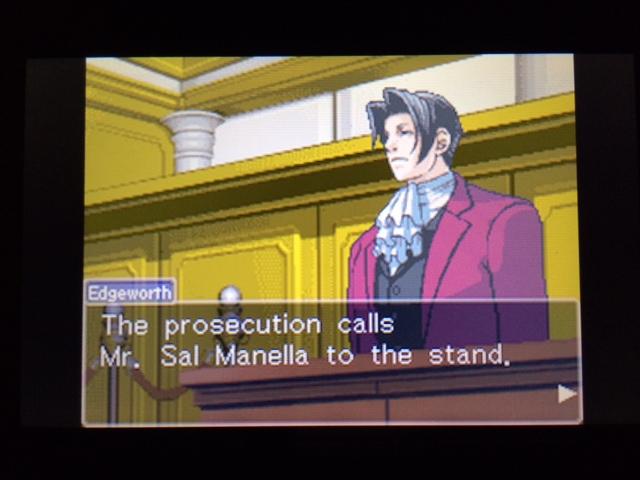逆転裁判 北米版 ウィル法廷冒頭28