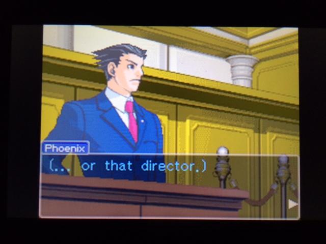 逆転裁判 北米版 ウィル法廷冒頭29