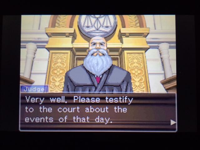 逆転裁判 北米版 マネラ・証言11