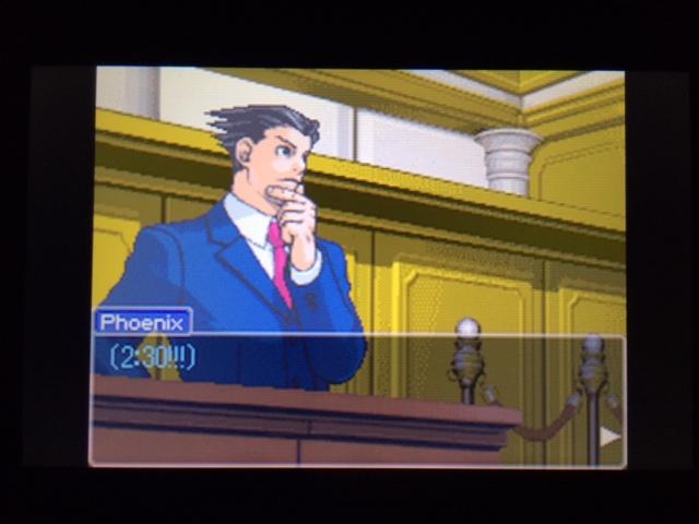 逆転裁判 北米版 マネラ証言 休憩について12