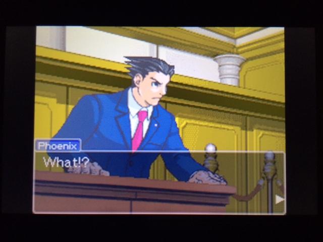 逆転裁判 北米版 マネラ証言 休憩について22